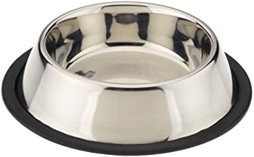 Pets Empire Stainless Steel Dog Feeding Bowl, Large