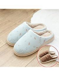 LOMYEN 2 Paia/Set Di Pantofole In Cotone per Autunno E Inverno,38/39