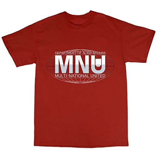 Multi-National United T-Shirt 100% Baumwolle Rot