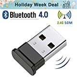 Best Adaptadores USB Bluetooth - HANPURE Adaptador USB Bluetooth 4.0, Bluetooth Dongle, Plug Review