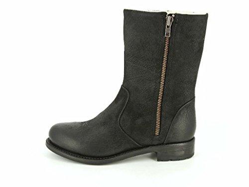 Damen Boots Black Schwarz amp; Mw70 Blackstone Mittel Stiefeletten In qtE56xwT