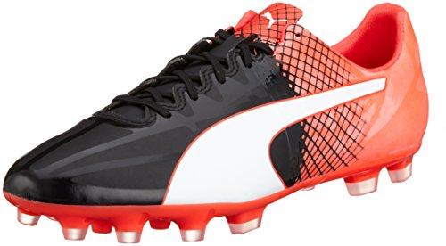 Puma Evospeed 1.5 Tricks Ag, Chaussures de Football Compétition Homme Noir - Schwarz (puma black-puma White-Red blast 03)