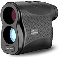 VGROUND Waterproof IP54 Golf Rangefinder 656 Yards/600 Meters with Flag-Lock, Fog, Distance, Speed Measurement for Hunting, Archery, Rugby, Tennis, Golf, Outdoor Adventure and Construction Survey