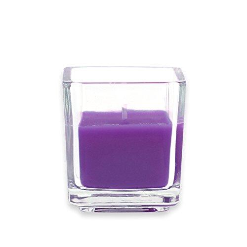 Zest Kerze cvz-043_ 8Werkzeugkoffen Ratschenkasten quadratisch Glas Votivkerze, Violett