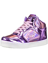 Skechers Girls' Energy Lights-Shiny Brights Hi-Top Trainers
