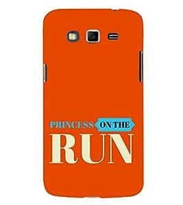 HiFi Designer Phone Back Case Cover Samsung Galaxy Grand 2 :: Samsung Galaxy Grand 2 G7105 :: Samsung Galaxy Grand 2 G7102 :: Samsung Galaxy Grand Ii ( Princess On the Run )