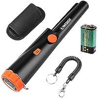 UNIROI Handheld IP65 Wasserdicht Automatische Zeiger Pinpointer Metalldetektor Schatzsuche Werkzeug mit 9V Batterie Vibrations-LED-Anzeige UD002