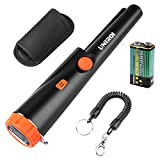 UNIROI Pinpointer Metal Detector with 9V Battery, IP65 Water-Resistant Treasure Hunting Tool