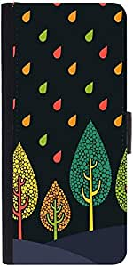 Snoogg Tree Cool Designer Protective Flip Case Cover For Samsung Galaxy A3