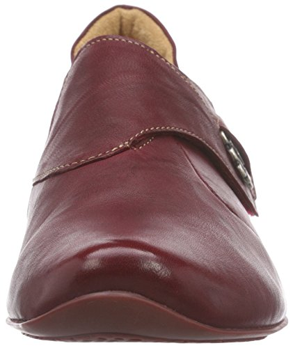 Think! Chilli Halbschuh, Sneakers basses femme Rouge - Rot (ROSSO/KOMBI 72)