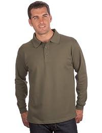 QUALITYSHIRTS Langarm Polo Shirt Gr. S - 8XL
