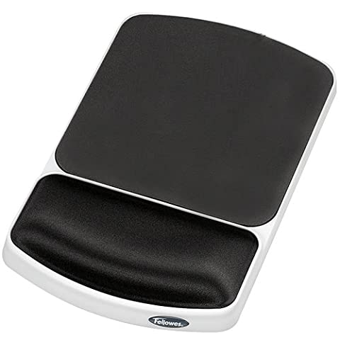 Fellowes 91741 - FELLOWES PREM GEL WRIST REST GRAPHIT