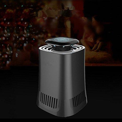 Mosquito Eliminator (LED Vernichter UV-Insektenvernichter Lampe Innenraum des Mosquito Insekt fangen Eliminator UV-Lampe Mücken Falle von Insekten mit Ventilator, frei von Produkt, # 3)