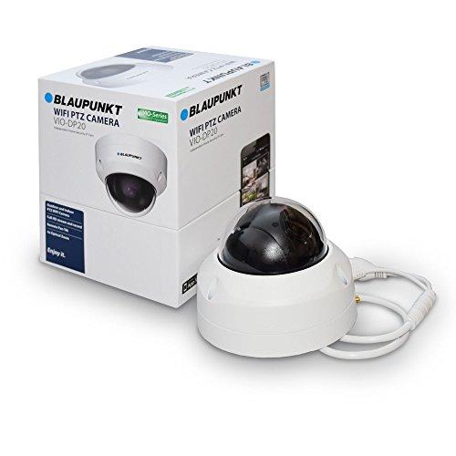 Blaupunkt PTZ Überwachungskamera VIO-DP20 mit Full-HD I Videoüberwachung per App I WLAN & LAN Netzwerkkamera I 355° Schwenken, 90° Neigen I IP Kamera mit Bewegungserkennung I Weiß - Dropcam Nachtsicht