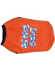 Choostix Alpha Dog Winter T-Shirt, Orange (Size 26)