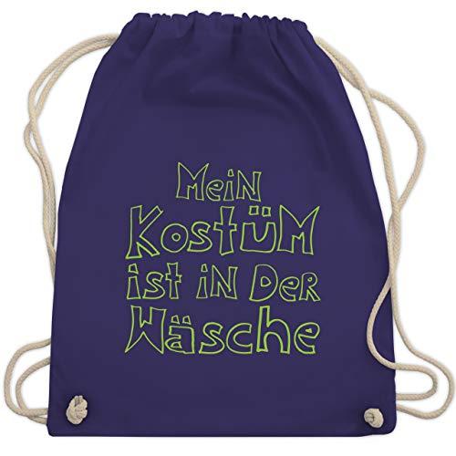 Karneval & Fasching - Mein Kostüm ist in der Wäsche - Unisize - Lila - WM110 - Turnbeutel & Gym ()