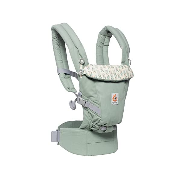 Ergobaby Baby Carrier Collection Adapt (3.2-20 kg), Sage Ergobaby 3 ergonomic wearing positions: on the front, on the back and on the hips Especially easy to use Suitable from birth (3.2 - 20kg) thanks to unique adjustment options 7