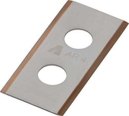 ARNOLD 1111-W1-1009 AR4 9X TiN-Cut Ersatzklingen inkl. Schrauben für Worx Mähroboter