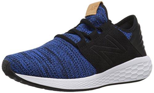 bd8cde5d0694a New Balance Men's Fresh Foam Cruz V2 Mcruzkr2 Running Shoes, Blue (Team  Royal/