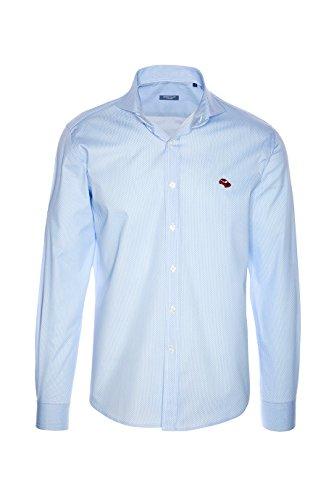 PETERSANT -  Camicia Casual  - Maniche lunghe  - Uomo blu XXL