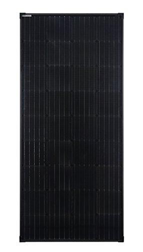 170 Watt-solar-panel (enjoysolar® 170Watt Full Black Edition Monokristallin 12V schwarzes Solarmodul Solarpanel Mono 170W ideal für Garten Wohnmobil Caravan)