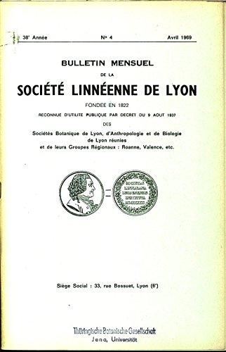 Contribution à la connaissance du gametophyte Rhynia gwynne-vaughanii Kidston et Lang: Problème des protuberances et processus de ramification (Yves Lemoigne), in: BULLETIN MENSUEL DE LA SOCIETE LINNEENNE DE LYON, No. 4, Avril 1969.