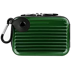 Vangoddy Pascal Metal Carrying Hard Case For General Imaging Digital Cameras (Green) (AD_CAMLEA055_WCAM:14:015)