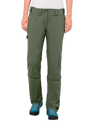 VAUDE Damen Hose Skomer Capri Zip Off Pants, Cedar Wood, 48/XXXL-Long, 5405 Preisvergleich