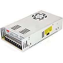 SUPERNIGHT fuente de alimentación conmutada AC110–240V to DC regulador de conmutación Transformador universal para electrodomésticos, CCTV, proyecto de radio, ordenador ect.