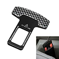 KKmoon Carbon Fiber Car Safety Seat Belt Buckle Clip Car-Styling 1pcs Universal Vehicle Mounted