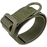 SHIYM-belt, Honda de la Caza Adaptador Multi Funcional portátil de Hombro Seguridad Correa Ajustable Culata Accesorio Adaptador de Montaje del Rifle Holder (Color : Amry Green)