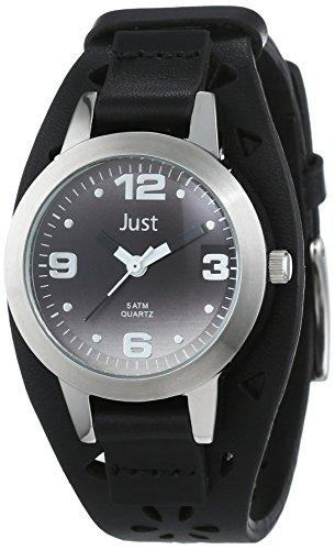 Just Watches 48-S10250-BK - Orologio da polso donna, pelle, colore: nero