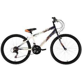 Falcon Boys\' Tornado Bike - (Black/White, 8-11 Years, 13 Inch, 24 ...
