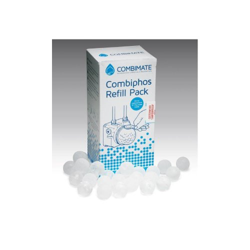 """Price comparison product image Cistermiser Refill Combimate Siliphos Balls 800g & Replacement """"O"""" Ring"""