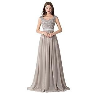 Abendkleider lang glitzer ebay
