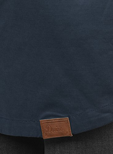 DESIRES Inata Damen Übergangsjacke Parka mit Kapuze aus hochwertigem Material Insignia Blue (1991)