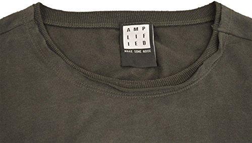 Amplified Uomo Maglieria/T-Shirt Sex Pistols Anarchie Grigio