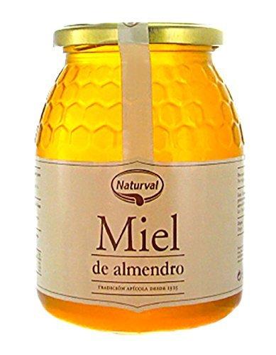 Naturval - Miel de Almendro, Aroma Floral y Frutal, Sabor Rico y Dulce, 950 g