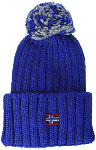 Napapijri Damen Baskenmütze Itang WOM 1, Blau (Bright Royal Ba5), One Size...