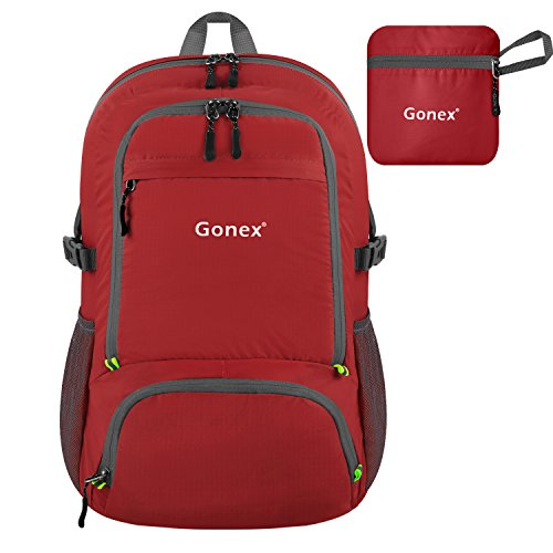 Gonex 30L Lightweight Packable Backpack Handy Small Daypack For Travel Camping Hiking Cycling Outdoor Sport