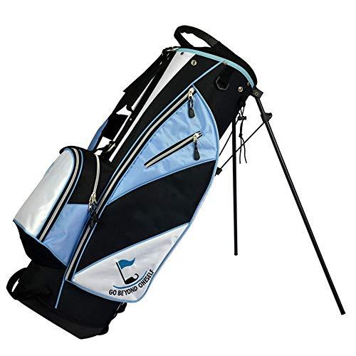 YAOSHIBIAN- Frauen Golftasche wasserdicht langlebig Männer Golftasche große Kapazität Golf Cart Taschen leichte Golf Travel Case Golfausrüstung (Farbe : Blau, Größe : 86 * 27 * 35cm)