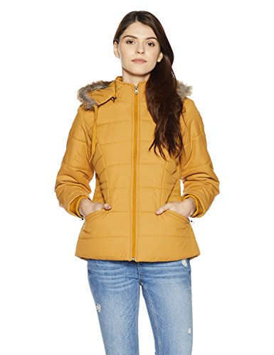 Qube By Fort Collins Women's Cape Jacket (170762_Mustard_XL)
