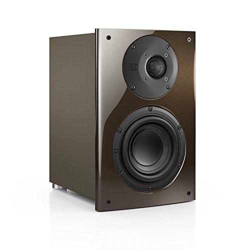 Nubert nuVero 30 Regal-/Dipol-Lautsprecher 2-Wege (2x 2.6cm Hochtöner,15cm Tieftöner,150/210Watt) Stück, Goldbraun