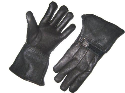 Napa Napa Hirsch Leder Hirschleder Thinsulate Leder Handschuh Gauntlet Typ schwarz S für Winter Thinsulate Winter Liner