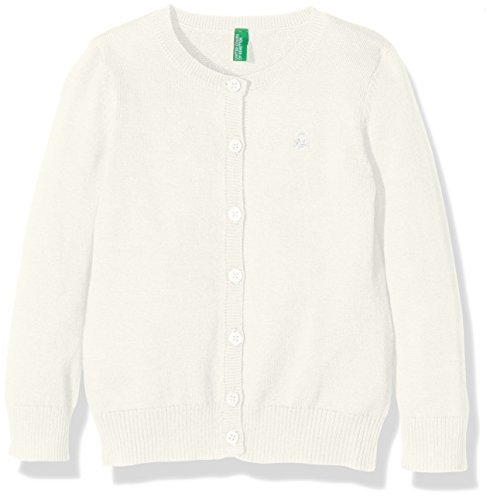 united-colors-of-benetton-12drc-pull-fille-ecru-cream-6-7-ans-taille-fabricant-s