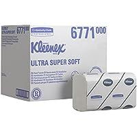Kleenex 6771 Essuie-Mains Pliés Ultra Super Soft 30 Paquets de 96 Formats 3 Plis Blanc