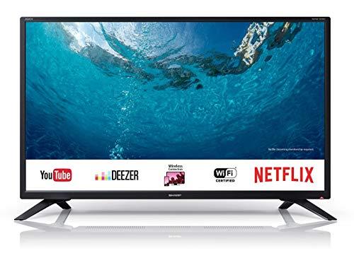 SHARP HD Ready LED Smart TV, 81 cm (32 Zoll), Harman/Kardon Soundsystem, HD-Tuner, LC-32HI5232E,