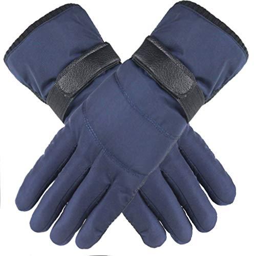 LIMITA Touchscreen-Handschuhe Herren Winter Warmer Velvet Handschuhe Warme Fahrradhandschuhe Laufhandschuhe