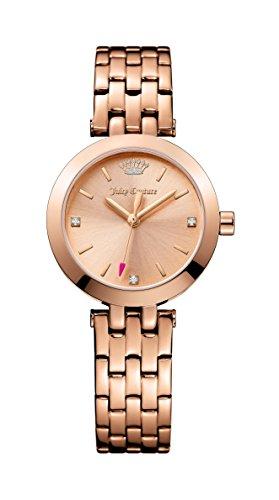Juicy Couture Donna Cali tono oro rosa acciaio inossidabile oro rosa Quadrante 1901460