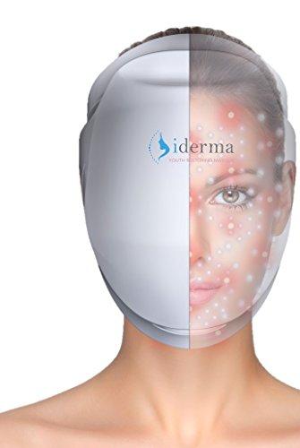 iDerma Máscara De Belleza - Tratamiento Avanzado Anti-Arrugas - Máscara De Rejuvenecimiento Facial Avanzada